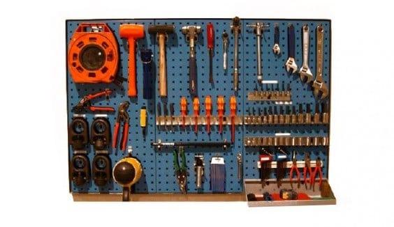 metodologia 5s - cassetta degli attrezzi