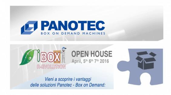 BOX ON DEMAND, per imballaggi snelli! Open House di Panotec per scoprire quelli adatti al tuo business