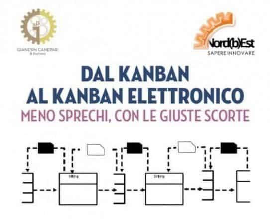 Dal Kanban al Kanban Elettronico: meno sprechi, con le giuste scorte. Workshop in azienda