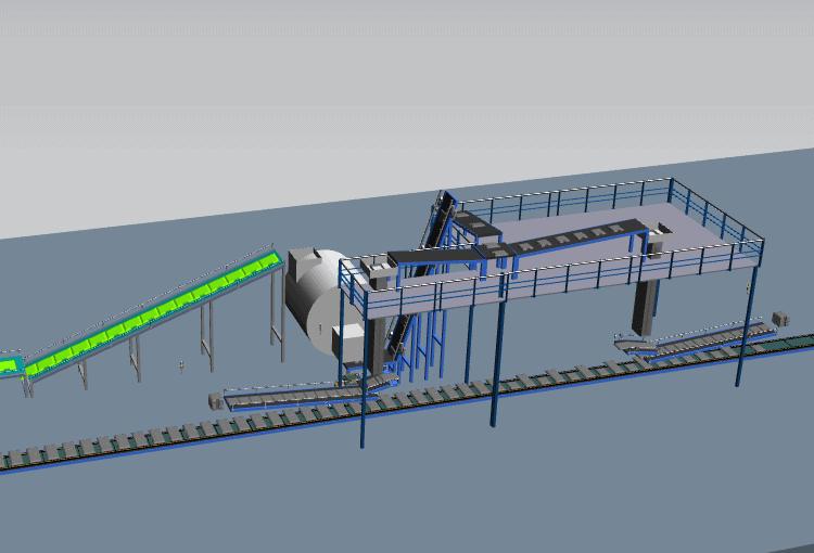 Industria 4.0 simulazione linea produttiva